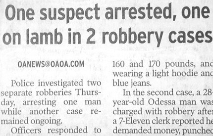 Must Have Been a Tiny Suspect