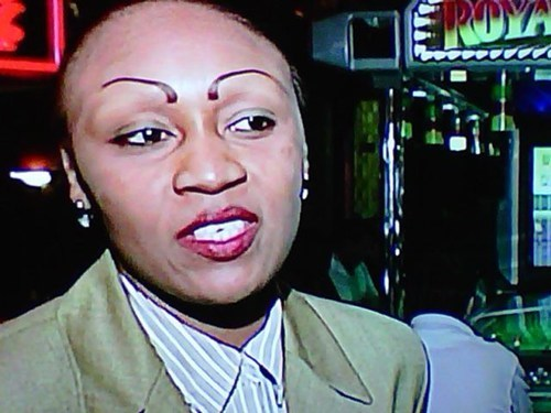 I Hope She's Being Interviewed About Her Eyebrows