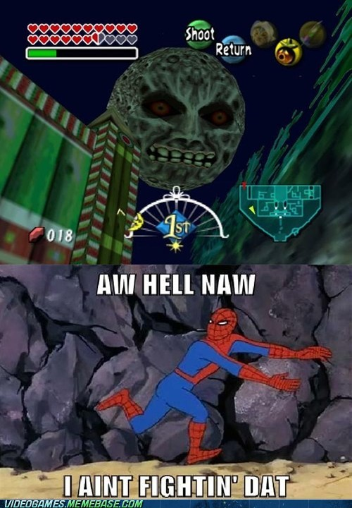 Spider-man is in Big Trouble
