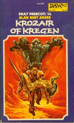 WTF Sci-Fi Book Covers: Krozair of Kregen