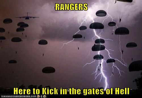RANGERS  Here to Kick in the gates of Hell