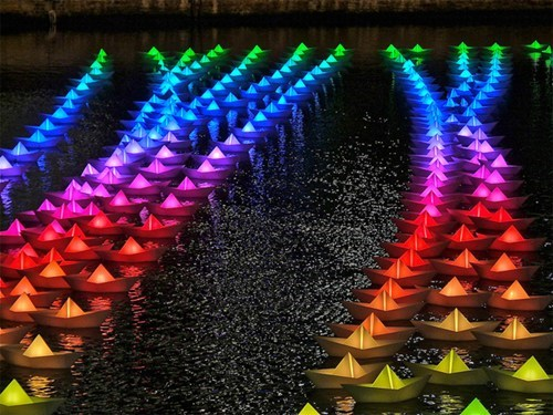 Illuminated Boats WIN