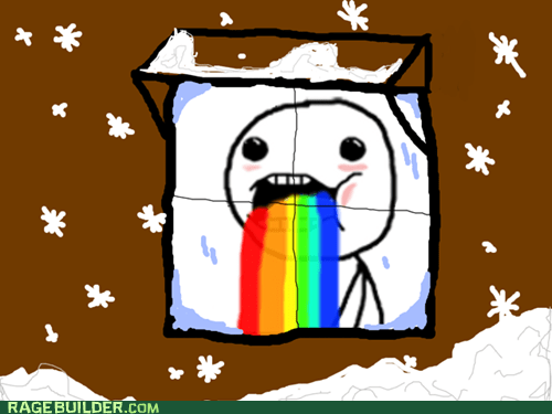 Snow Makes Me Puke Rainbows