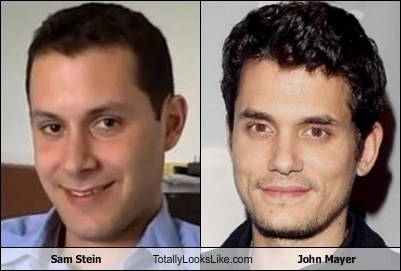 Sam Stein Totally Looks Like John Mayer