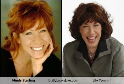 Mindy Sterling Totally Looks Like Lily Tomlin