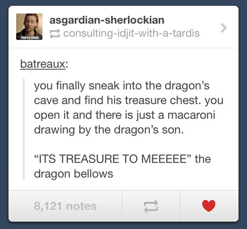 One Man's Trash is Another Dragon's Treasure