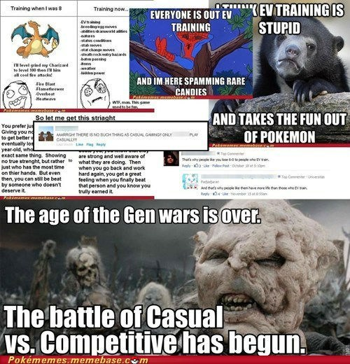 Let's NOT bring this fight to Pokememes, shall we?