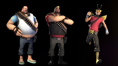 You Got Your Adult Swim Gear in My Team Fortress 2!