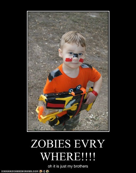 ZOBIES EVRY WHERE!!!!