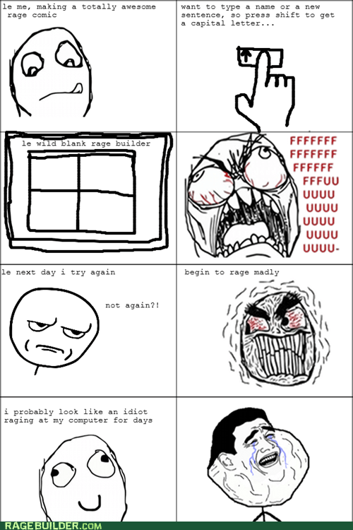 shift key Rage!