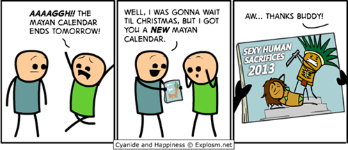 calendar,cyanide and happiness,comics,apocalypse,end of the world