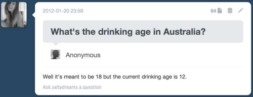 Australia Wins at Underage Drinking