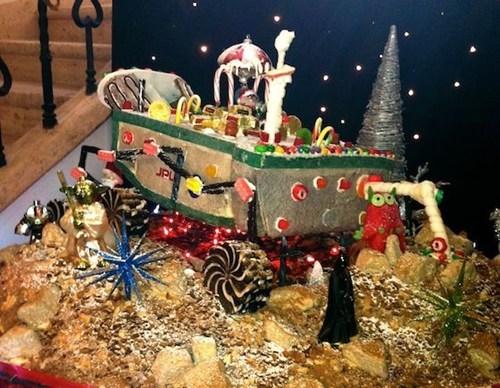 christmas,mars rover,nerdgasm,gingerbread