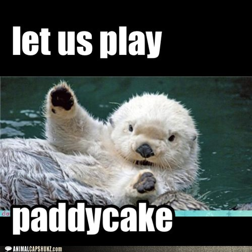 let us play paddycake