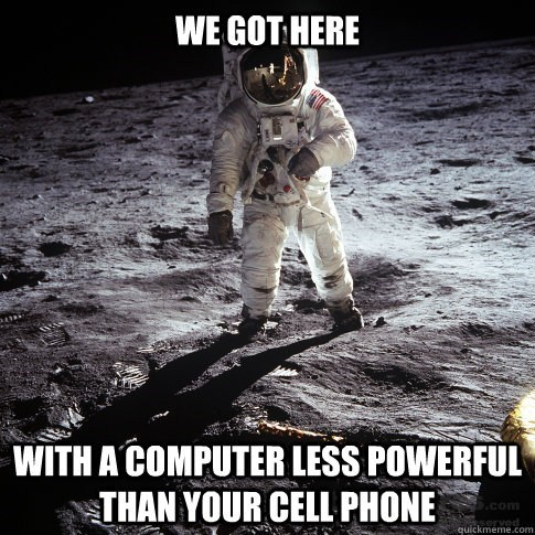 That's Why I Sent My Phone to the Moon