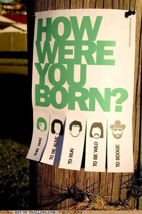 I Was Born All the Ways