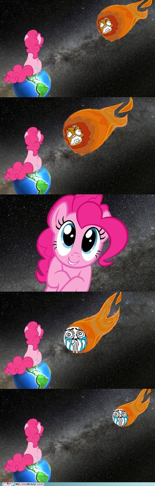 pinkie pie,comic,end of the world