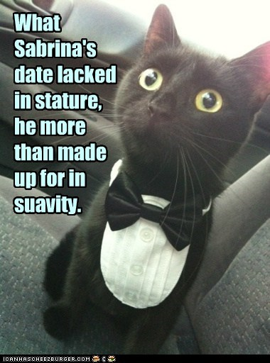 And everybody's crazy 'bout a sharp-dressed cat.