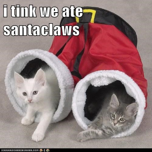 i tink we ate santaclaws