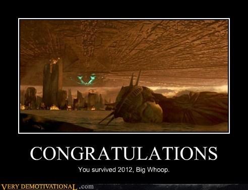 Aliens,big whoop,congratulations