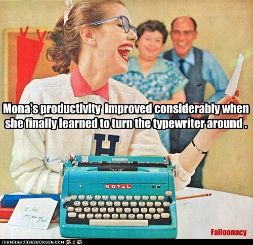 Face it, you're no typist