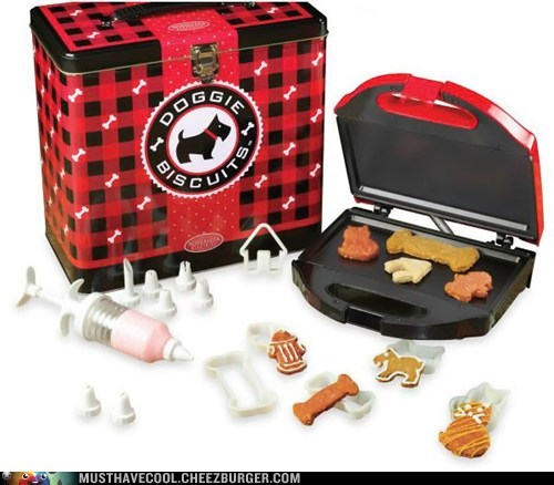 Dog Treat Maker with Decorating Kit