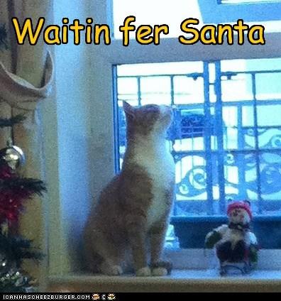 Waitin fer Santa