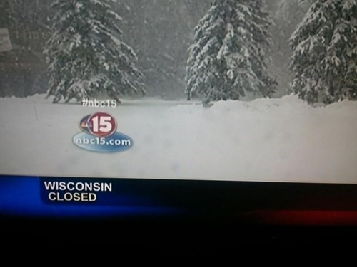 news,snow,closed,winter,wisconsin
