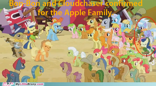 cloudchaser,party crashers,apple family reunion,bon bon