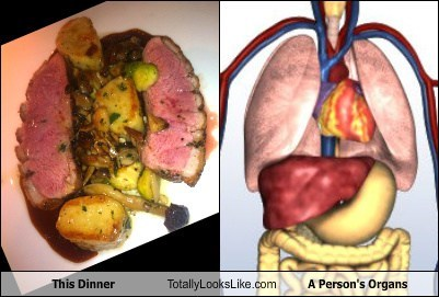 This Dinner Totally Looks Like A Person's Organs