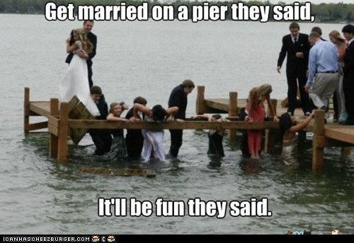 Pier Marriage