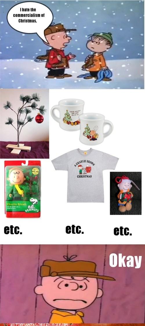 christmas,charlie brown,funny,holidays,g rated,sketchy santas