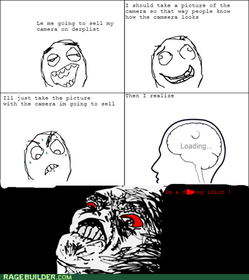 Rage Comics - derp - Express Your Rage - rage comics - Cheezburger