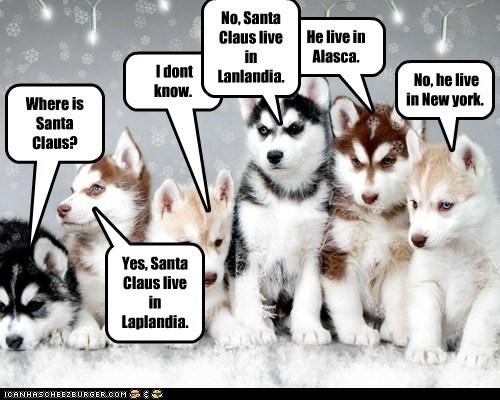 Where live Santa Claus