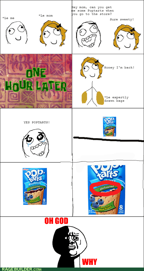 pop tarts,oh god why,unfrosted