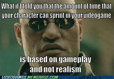 Memes,sprint,reality,video games