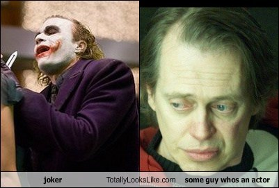joker  Totally Looks Like some guy whos an actor