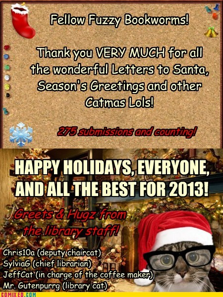 Thx & Happy Holidays Everyone!