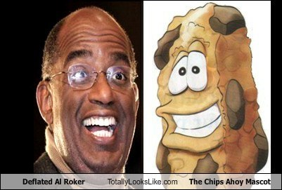Deflated Al Roker Totally Looks Like The Chips Ahoy Mascot