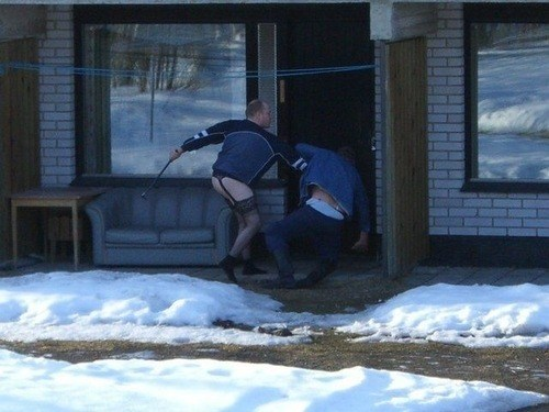Only in Russia...
