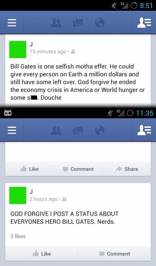 charity,selfish,Bill Gates,billionaire,world hunger