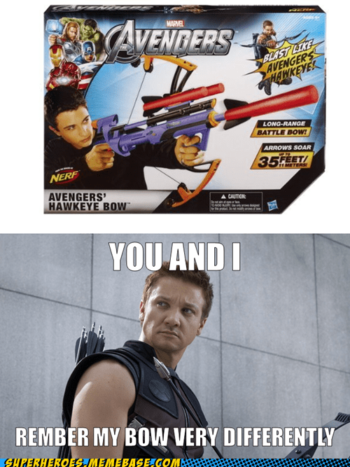 Be Just Like Hawkeye*