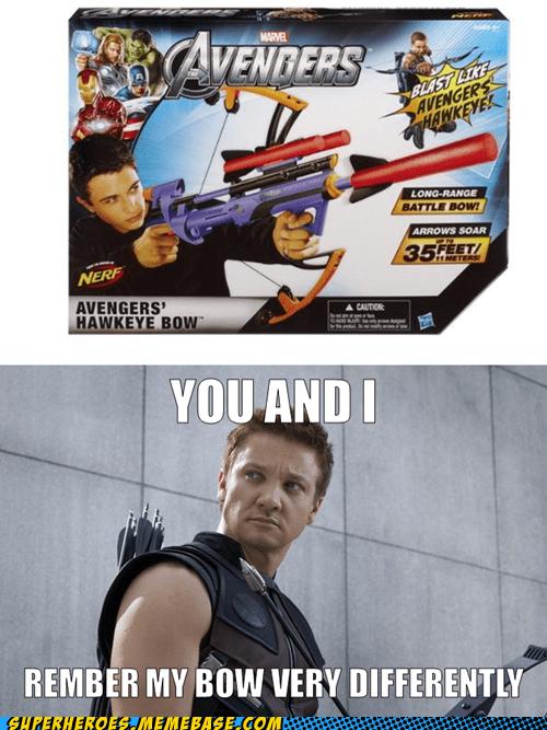 Be Just Like Hawkeye*