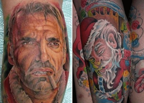Bad Santa: Not So Bad Tattoo