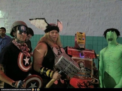 Wow, The Avengers have REALLY cut some corners...