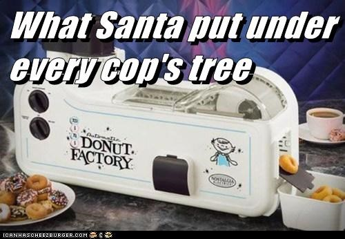What Santa put under every cop's tree
