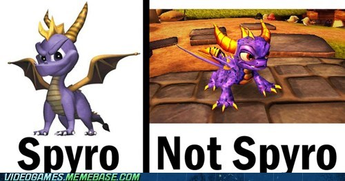 skylanders,spyro,know the difference
