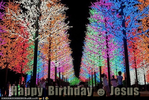 Happy  Birthday ☻ Jesus