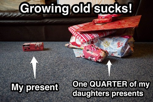 Growing Old at Christmas is Horrible!