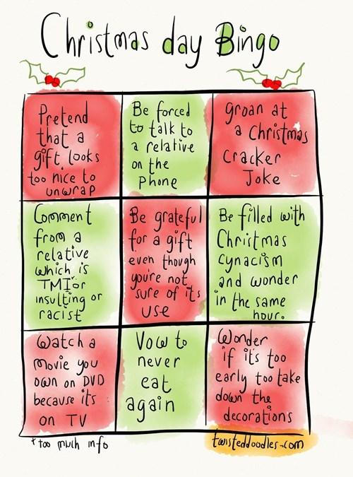 christmas,funny,holidays,bingo
